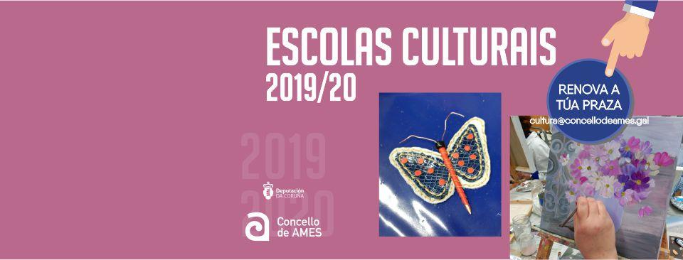 Escolas Culturais 2019/2020