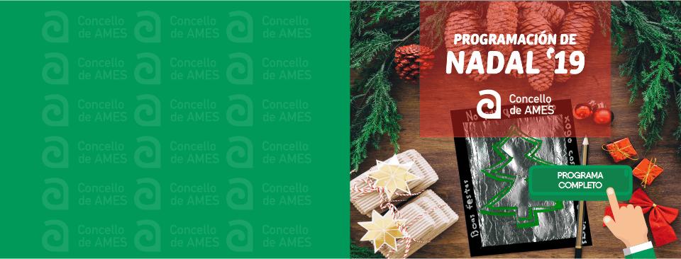 Programación de Nadal do Concello de Ames
