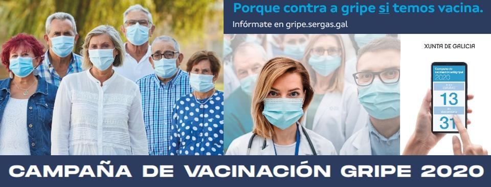 Campaña de vacinación contra a gripe