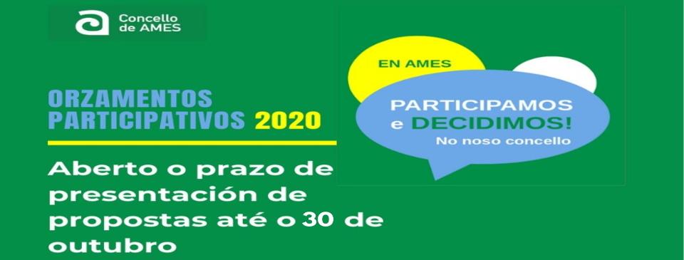 Orzamentos participativos 2020