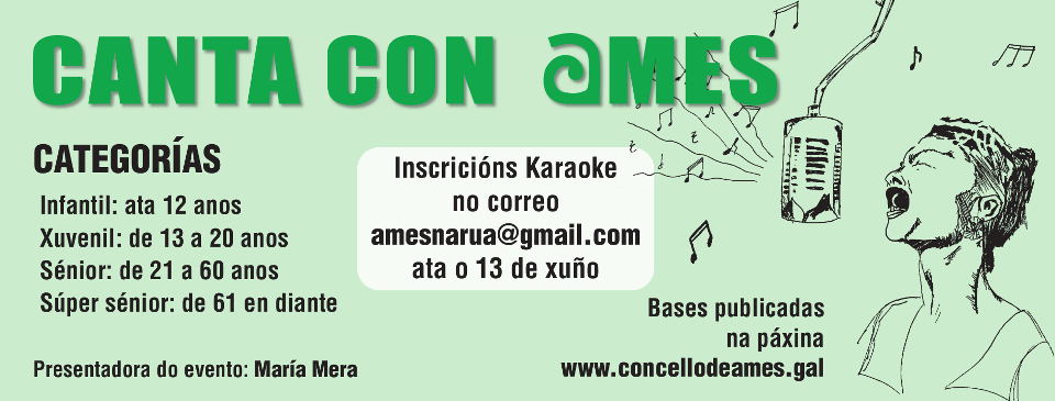 Concurso Canta con Ames