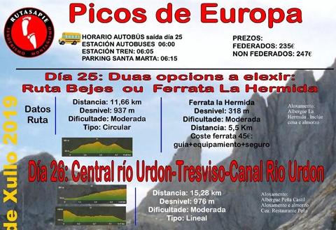 Portada Rutas a pie Picos de Europa