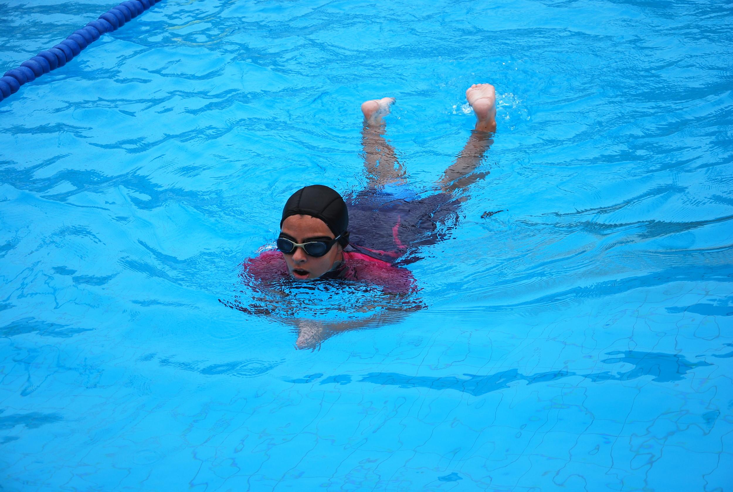 Cursos de natación do mes de agosto