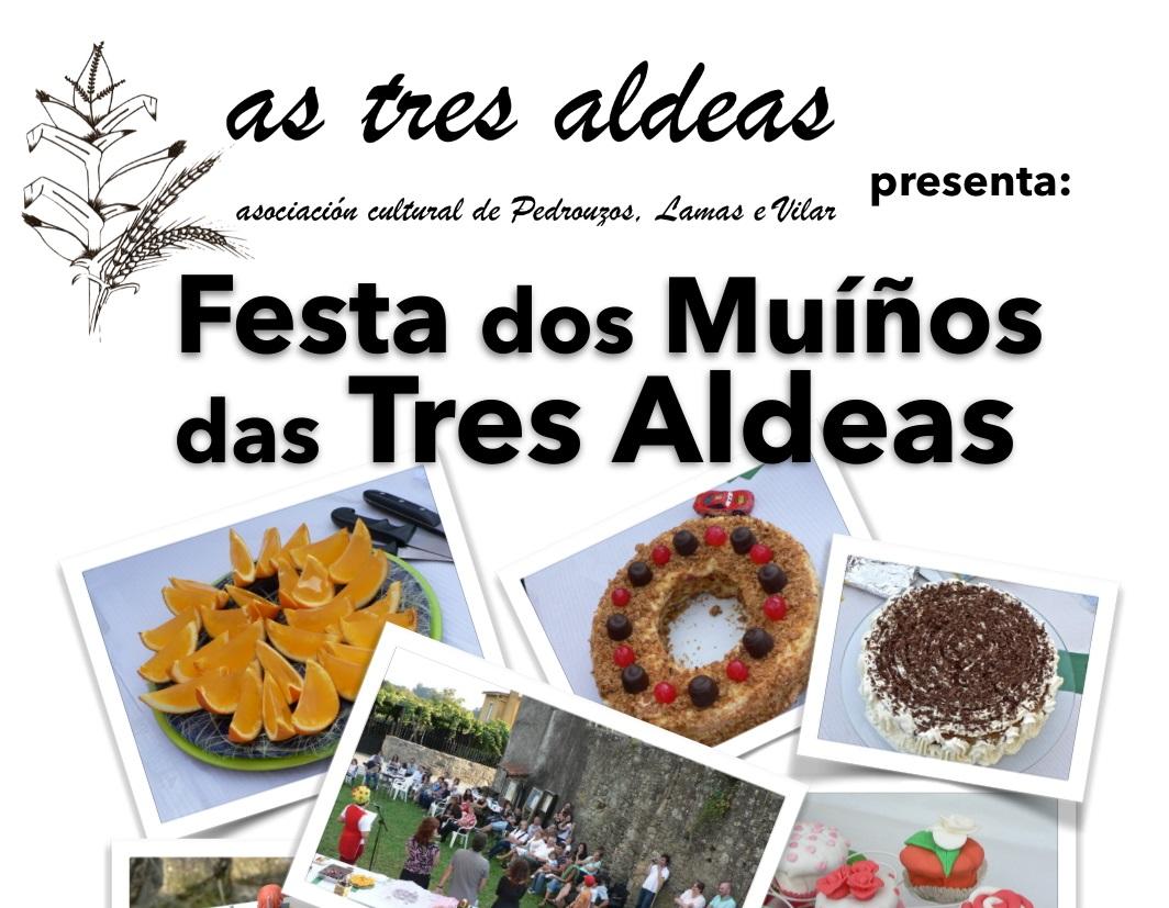 Cartel da Festa dos Muíños das Tres Aldeas