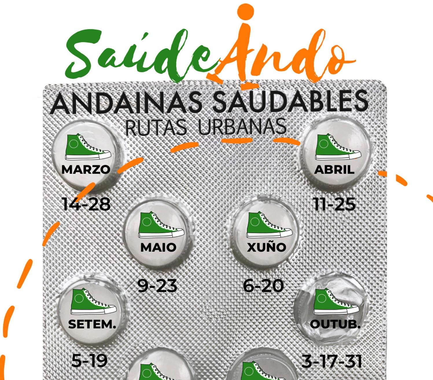 Imaxe do cartel do programa SaudeAndo en Bertamiráns