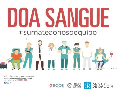 Imaxe da campaña Doa Sangue