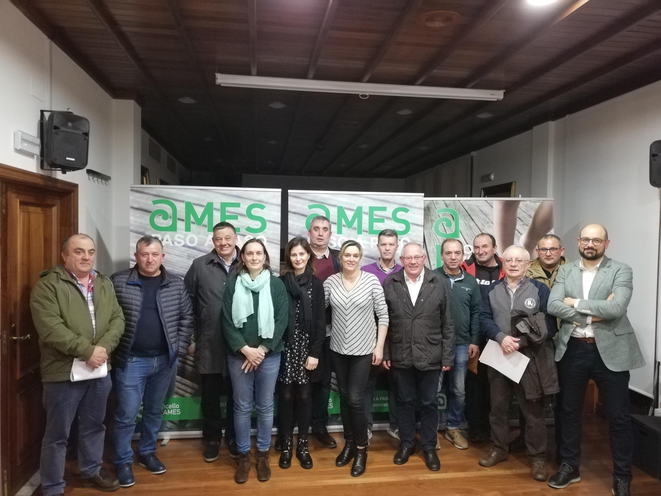 O salón de plenos da Casa do Concello acolleu unha nova xuntanza da Comisión de Orzamentos Participativos do Rural