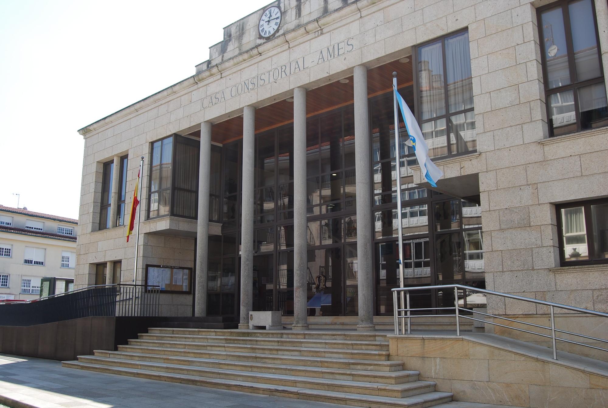 Imaxe da fachada da Casa do Concello
