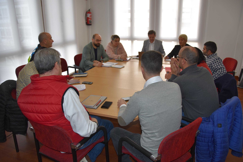 Imaxe da reunión mantida polo Comité de seguimento para o COVID-19