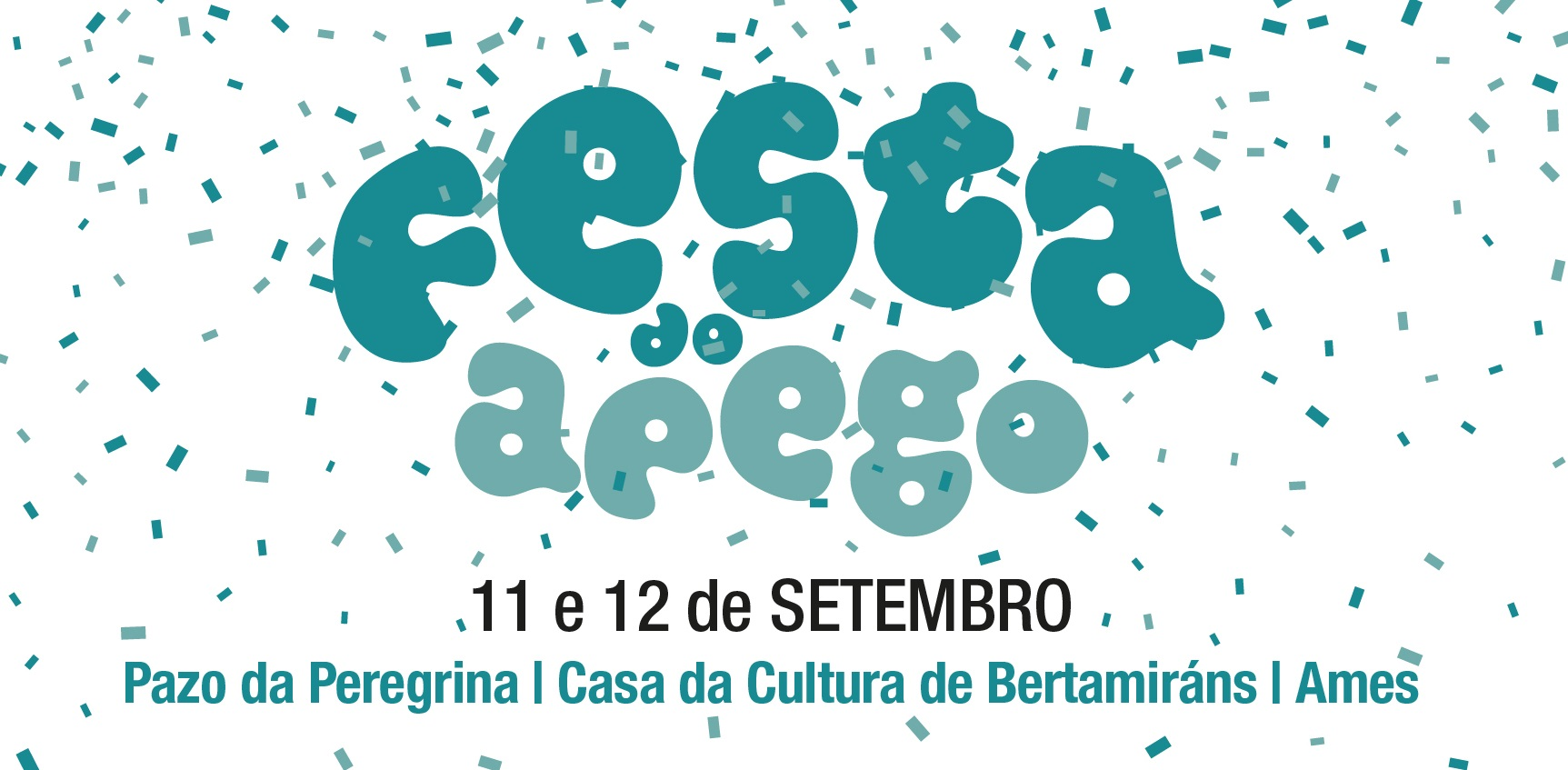 Cartel da Festa do Apego de Ames