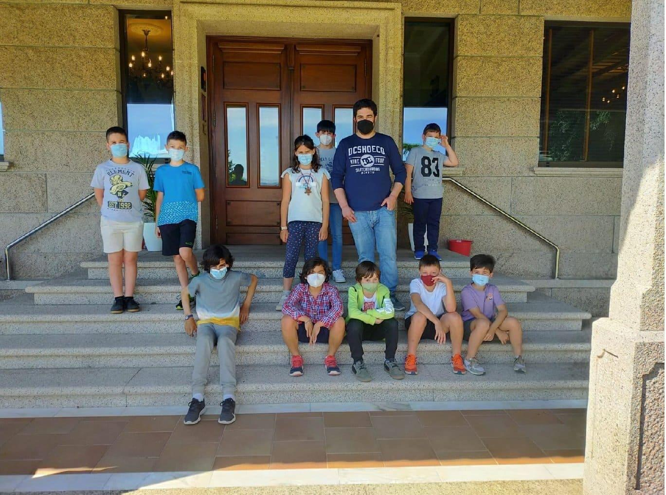 Escola Ames Xadrez nos Campionatos Galegos de Xadrez