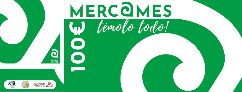Os comercios adheridos á campaña das tarxetas Merc@ames obtiveron unha media de preto de 616 euros