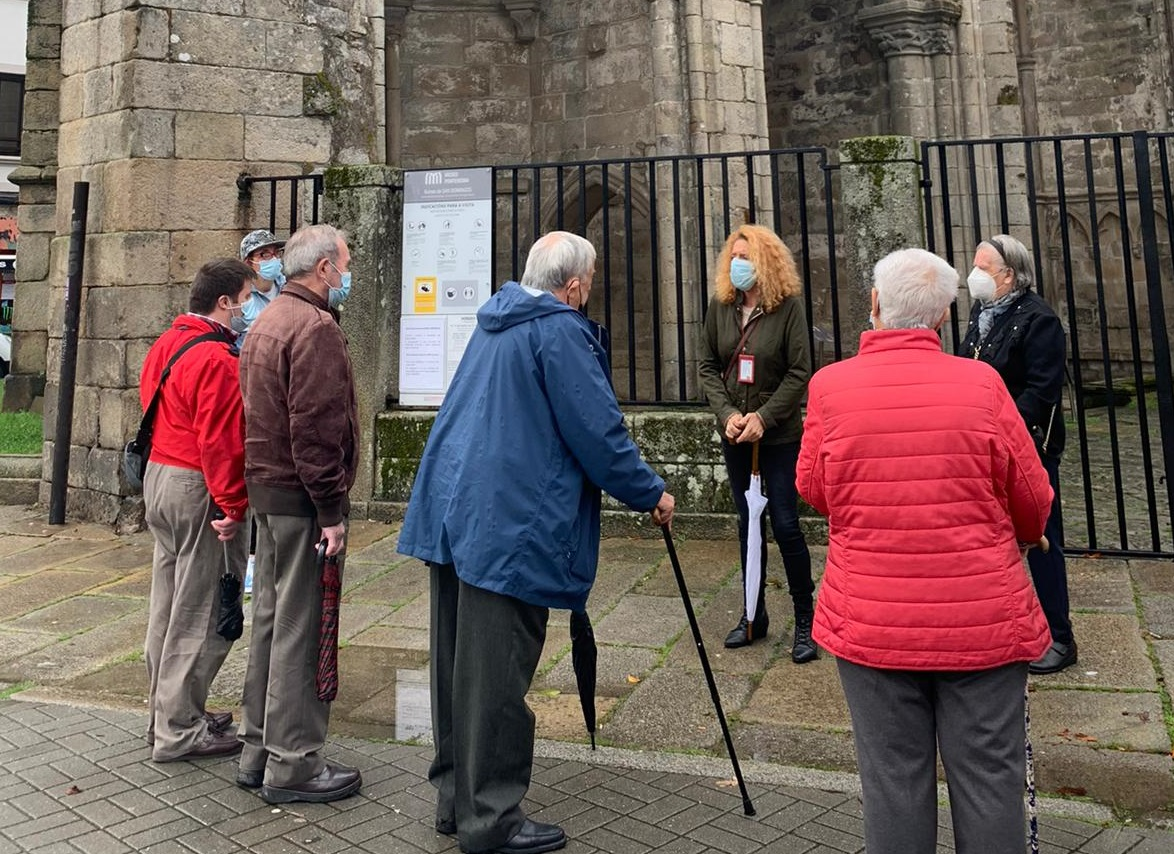 Visita SAF Pontevedra