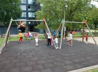 Tempo de xogo libre na Escola de verán