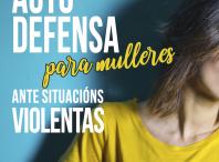 Cartel do curso de auto defensa para mulleres que se organiza no Milladoiro