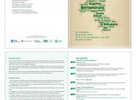 Imaxe do folleto informativo das primeiras Xornadas de Toponimia