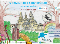 Cartel V Camiño da Diversidade