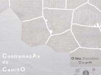 Cartel do programa Contramapas do Camiño. Memorias do habitar