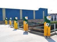 O Punto Limpo está situado na rúa das Hedras do polígono Novo Milladoiro
