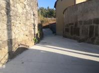 Rematan as obras de pavimentación de viarios no lugar de Vilouta, na parroquia de Tapia