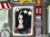 Cartel do Concurso de Escaparates de Nadal