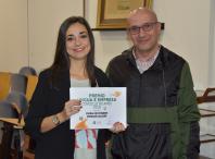 Entrega premios Lingua e Empresa
