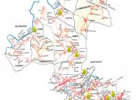 Imaxe cos puntos de recollida de aceite nas parroquias
