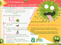 Cartel informativo do Coronavirus-COVID19