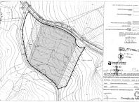 Mapa da parcela onde se construirá o novo CEIP do Milladoiro