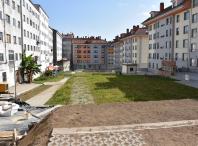 Obras para arranxar a urbanización do PM5-03