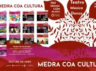 Cartel da programación cultural