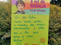 Cartaz A Luz de Rosalía