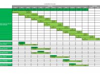 Segunda páxina do calendario fiscal de 2021
