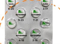 Calendario de andainas en Milladoiro