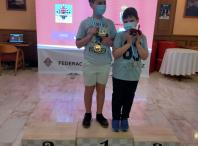 Nico e Sergio, Escola Ames Xadrez nos Campionatos Galegos de Xadrez