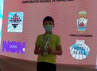 Unai, Escola Ames Xadrez nos Campionatos Galegos de Xadrez