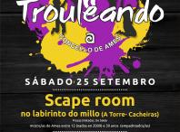 Inscríbete e participa no Scape Room do programa Trouleando