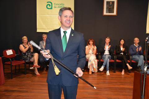 José Miñones é reelixido alcalde de Ames