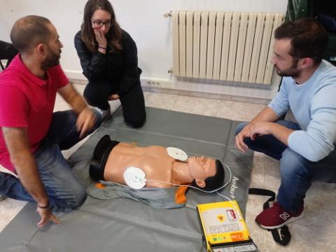 Curso primeiros auxilios OMIX 2019