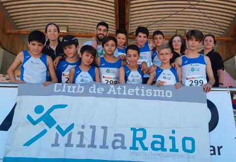 Millaraio no Campionato de España por equipos