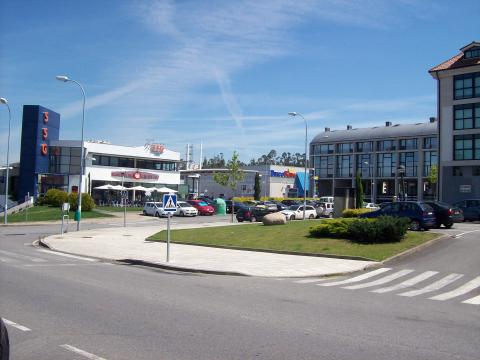 Imaxe do polígono industrial do Milladoiro