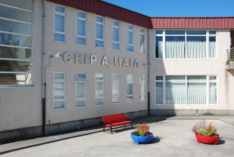 Imaxe do CEIP da Maía