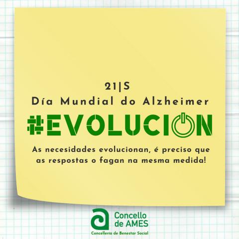 Ames súmase á conmemoración do Día Mundial do Alzheimer