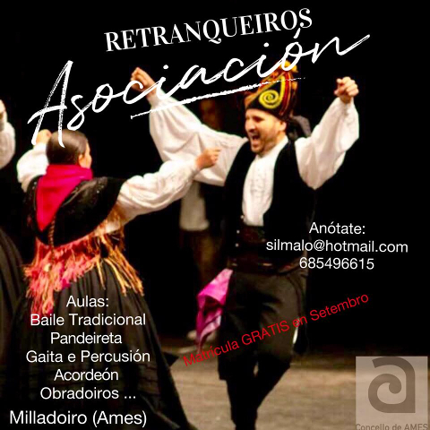 Os grupos de música e baile tradicional de Ames manteñen aberto o prazo de inscrición durante o mes de setembro
