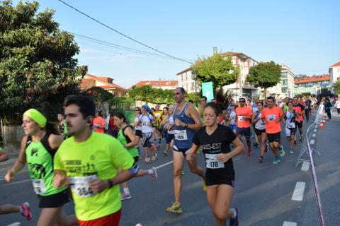 Imaxe da carreira pedestre popular de 2018