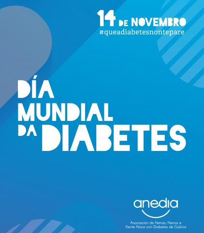 Cartel Día Mundial da Diabetes