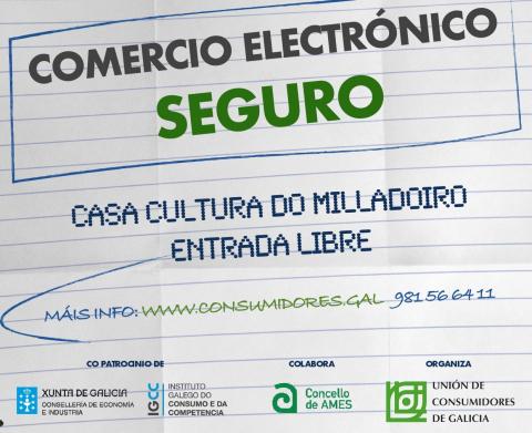 A UCGAL impartirá no Milladoiro unha xornada informativa sobre o comercio electrónico seguro