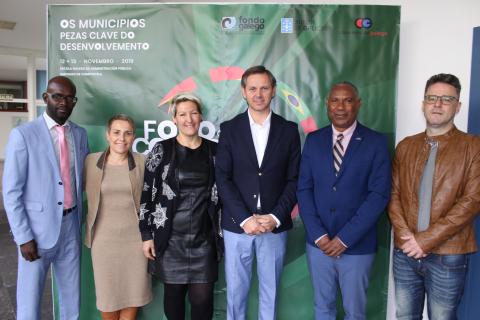 O Concello de Ames renova o convenio de cooperación internacional co municipio caboverdiano de Tarrafal