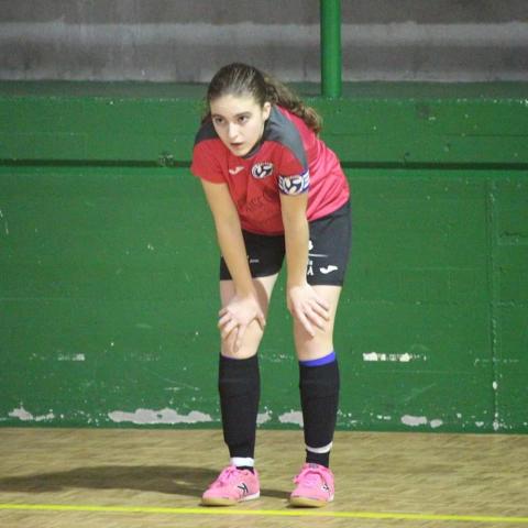 Imaxe de Teresa Pereiro, xogadora do F.C. Meigas