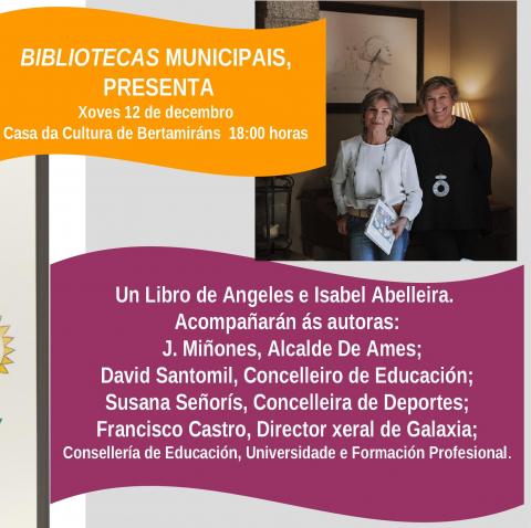 Presentación do libro das Irmáns Abelleira